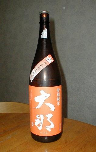 大邦(だいな) 純米原酒 ひやおろし